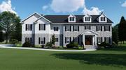 2 Story New England House 3d model