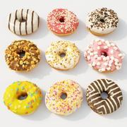Donut Koleksiyonu 3d model