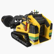 Vermeer S450TX Mixer 3D Model 3d model