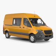 Cargo Van Generic 3d model