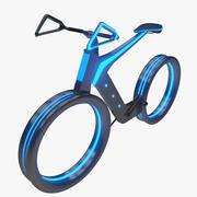 Framtida cykel 3d model