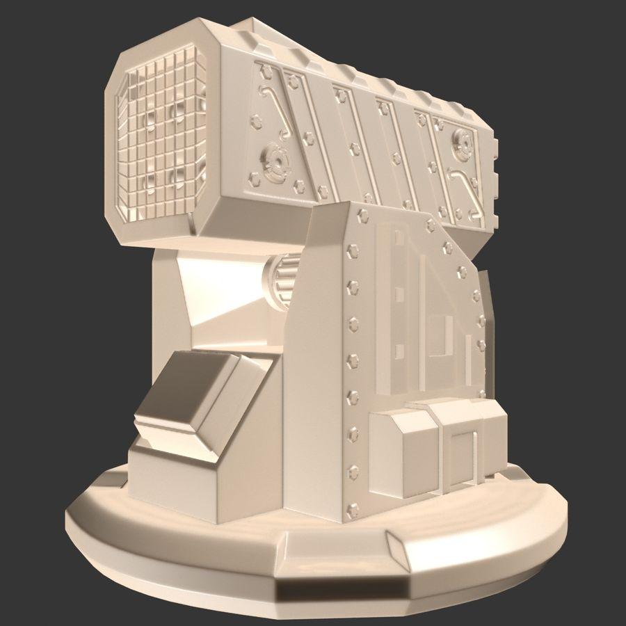 Wyrzutnia rakiet royalty-free 3d model - Preview no. 15