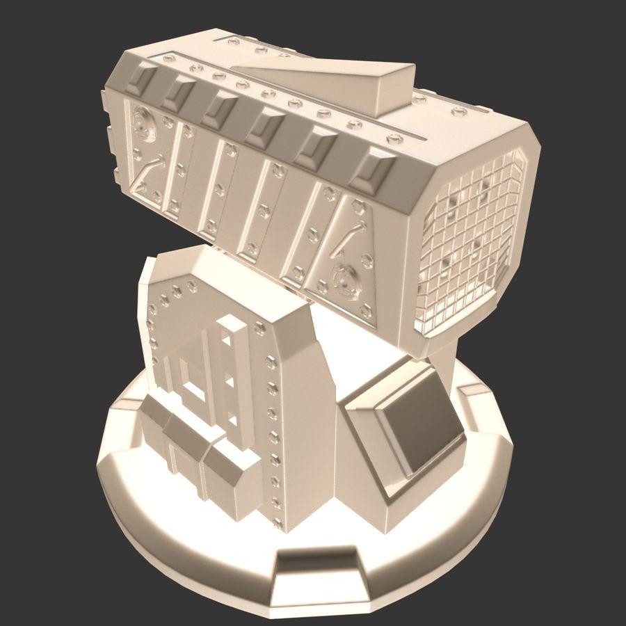 Wyrzutnia rakiet royalty-free 3d model - Preview no. 14