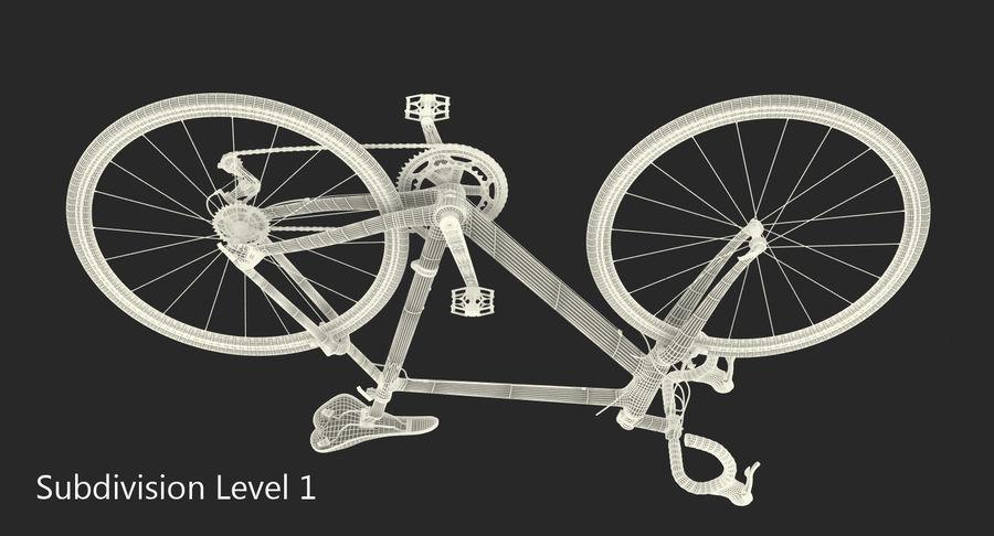 Road Bike royalty-free 3d model - Preview no. 10