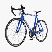 Bicicleta de carretera modelo 3d