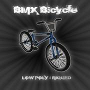 Pro BMX自転車 3d model