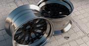 CCW Classic Wheels Rims 3d model