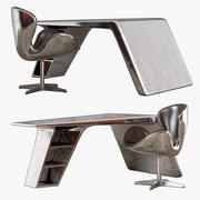 Aviator Desk 3d model