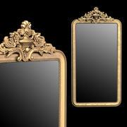 Louis Philippe Gilt Leaner Mirror 3d model