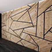 Juego de paneles de pared 5 modelo 3d