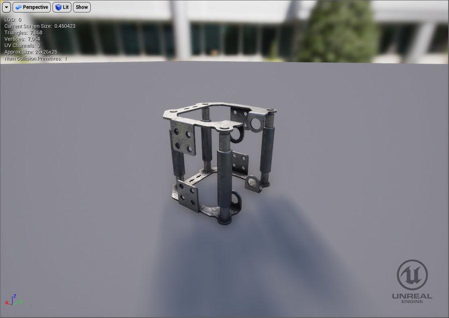 机械零件 royalty-free 3d model - Preview no. 6