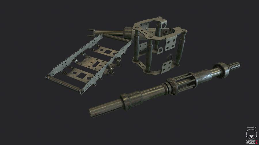 机械零件 royalty-free 3d model - Preview no. 14
