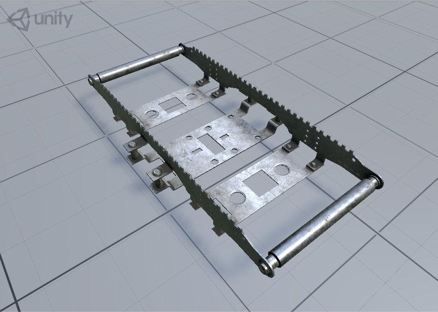 机械零件 royalty-free 3d model - Preview no. 13