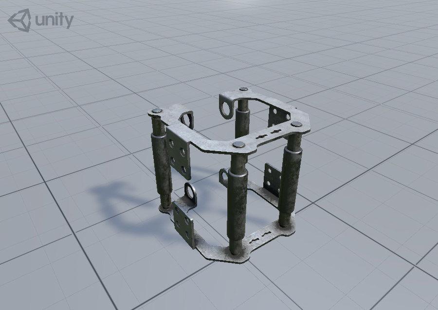 机械零件 royalty-free 3d model - Preview no. 10