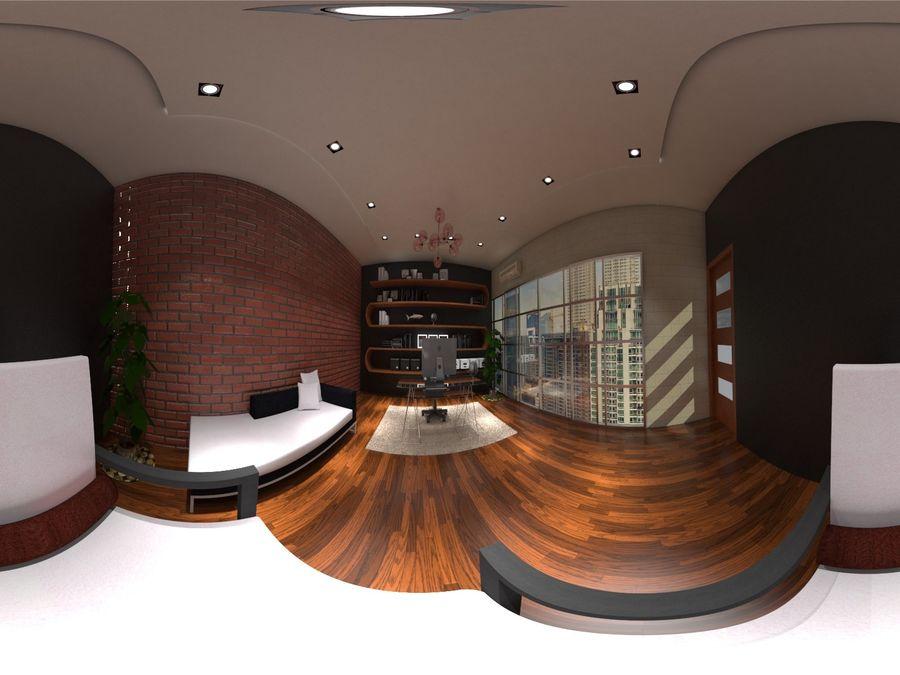 Diseño de oficina royalty-free modelo 3d - Preview no. 2