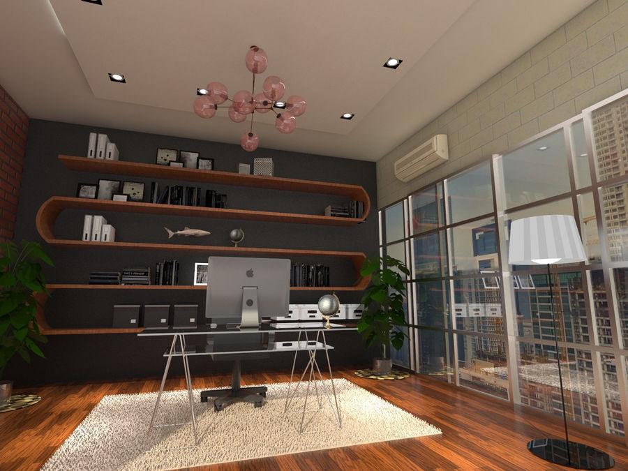 Diseño de oficina royalty-free modelo 3d - Preview no. 3