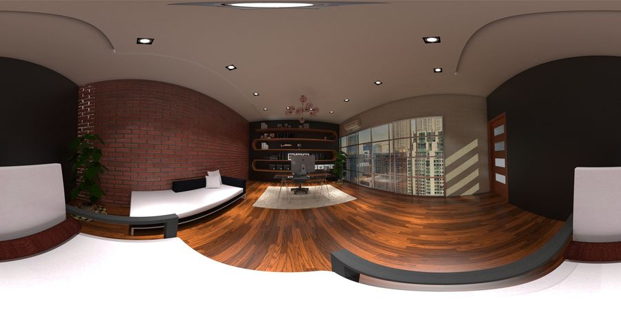 Diseño de oficina royalty-free modelo 3d - Preview no. 1