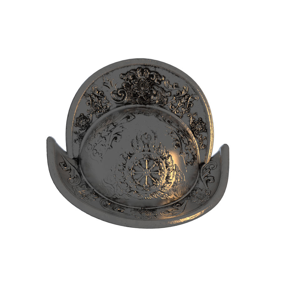 Metal Helme royalty-free 3d model - Preview no. 3