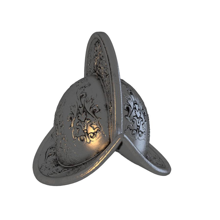 Metal Helme royalty-free 3d model - Preview no. 2