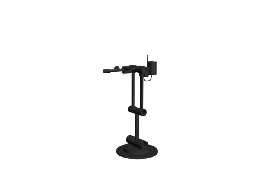 Antenna royalty-free 3d model - Preview no. 2