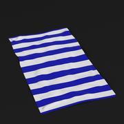 沙滩巾1 3d model