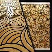 Wood panel. 3d . Art Deco 2 3d model