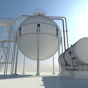 Gaz depolama 3d model