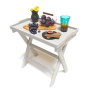 フルーツのサービングテーブル 3d model
