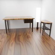 Twee tafel 3d model