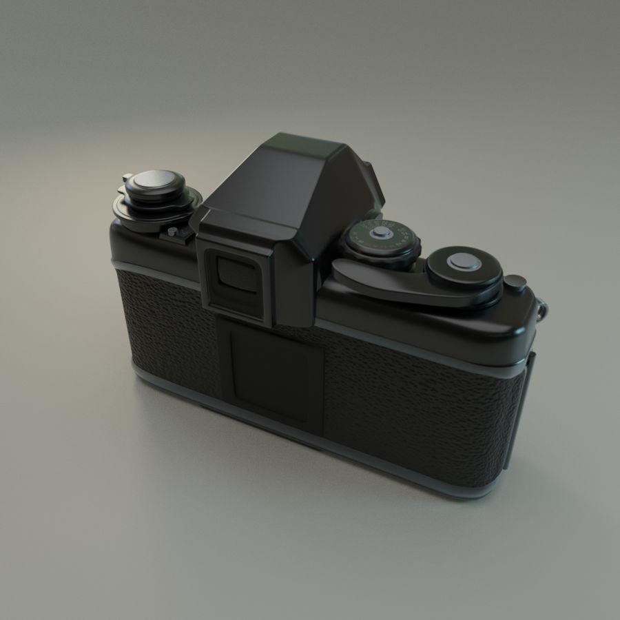 Nikon F3 SLR-fotokamera royalty-free 3d model - Preview no. 2