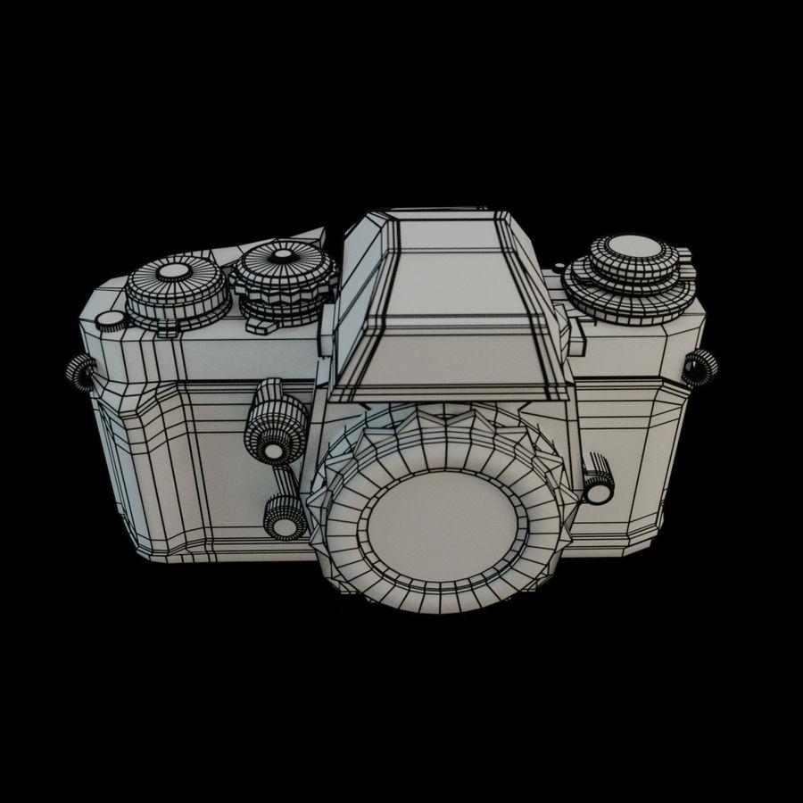 Nikon F3 SLR-fotokamera royalty-free 3d model - Preview no. 6