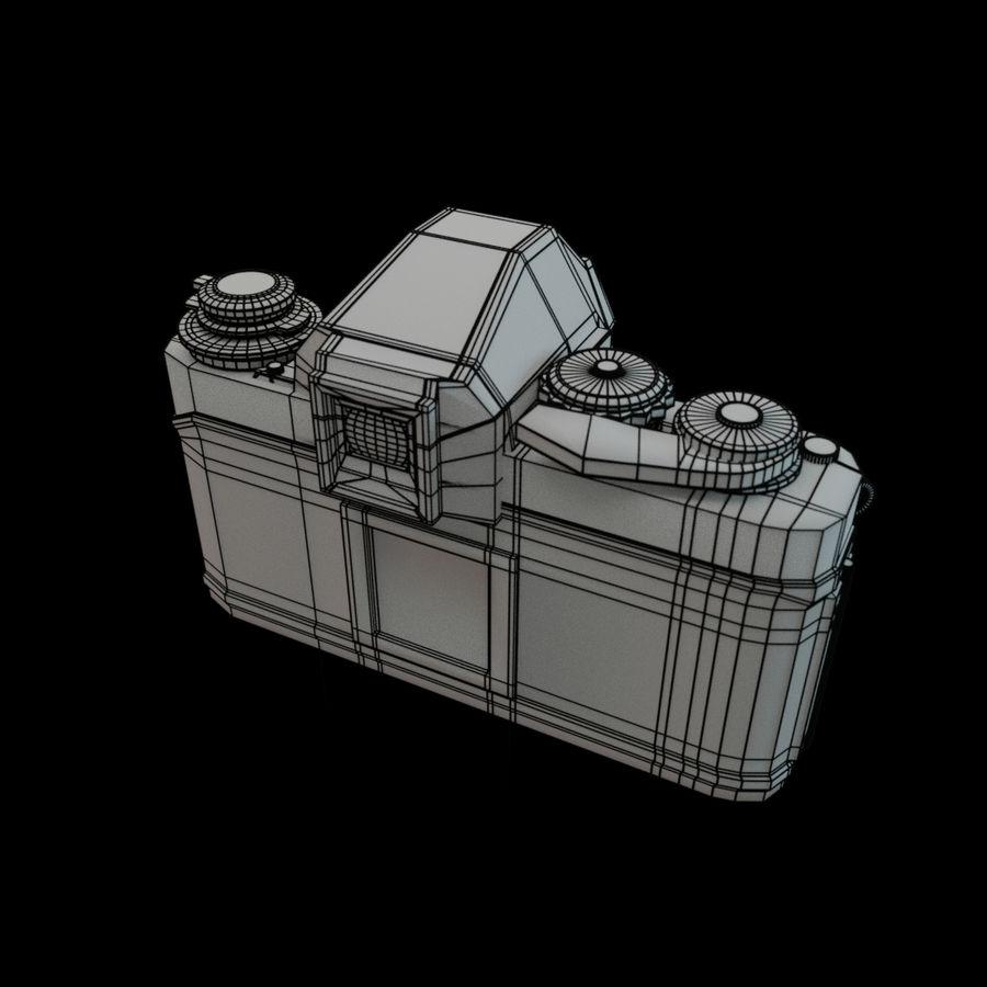 Nikon F3 SLR-fotokamera royalty-free 3d model - Preview no. 7