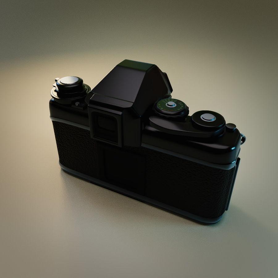 Nikon F3 SLR-fotokamera royalty-free 3d model - Preview no. 5