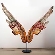 Coppia di ali di angeli di grandi dimensioni 3d model