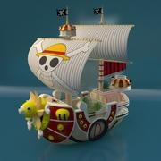 pirat skepp 3d model