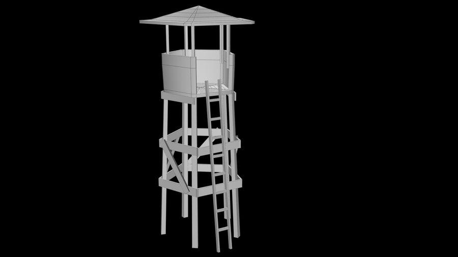 钟楼 royalty-free 3d model - Preview no. 6