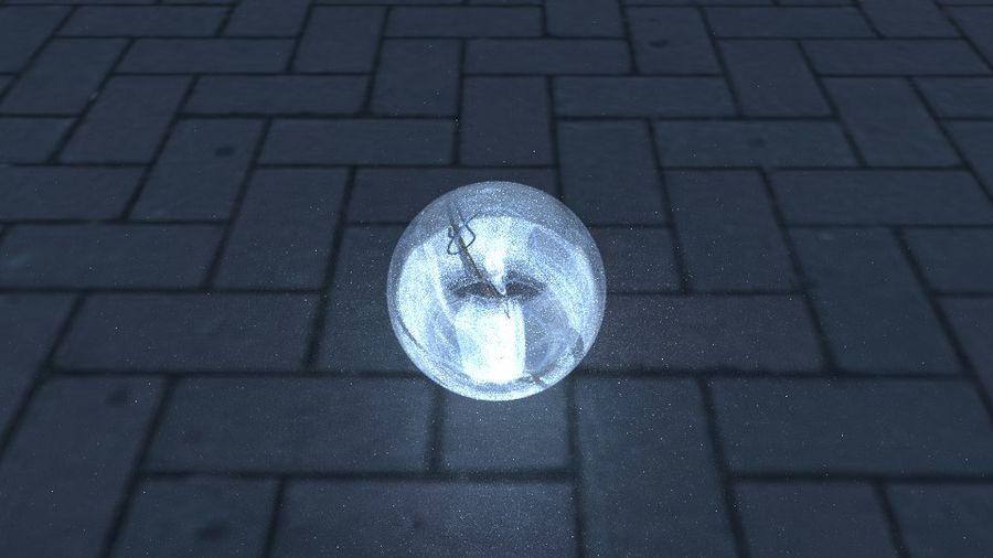 Bombilla de luz en el piso royalty-free modelo 3d - Preview no. 3