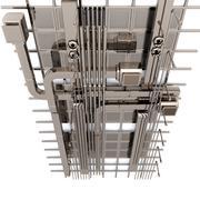 Tubatura industriale 3d model