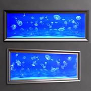 acuario de medusas modelo 3d