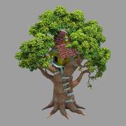 Planta - Casa del árbol - Edificio 01 modelo 3d