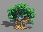Plant - Tree House - Building 04 3d model
