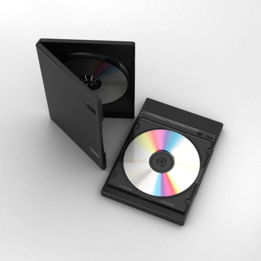 CD 디스크 royalty-free 3d model - Preview no. 7