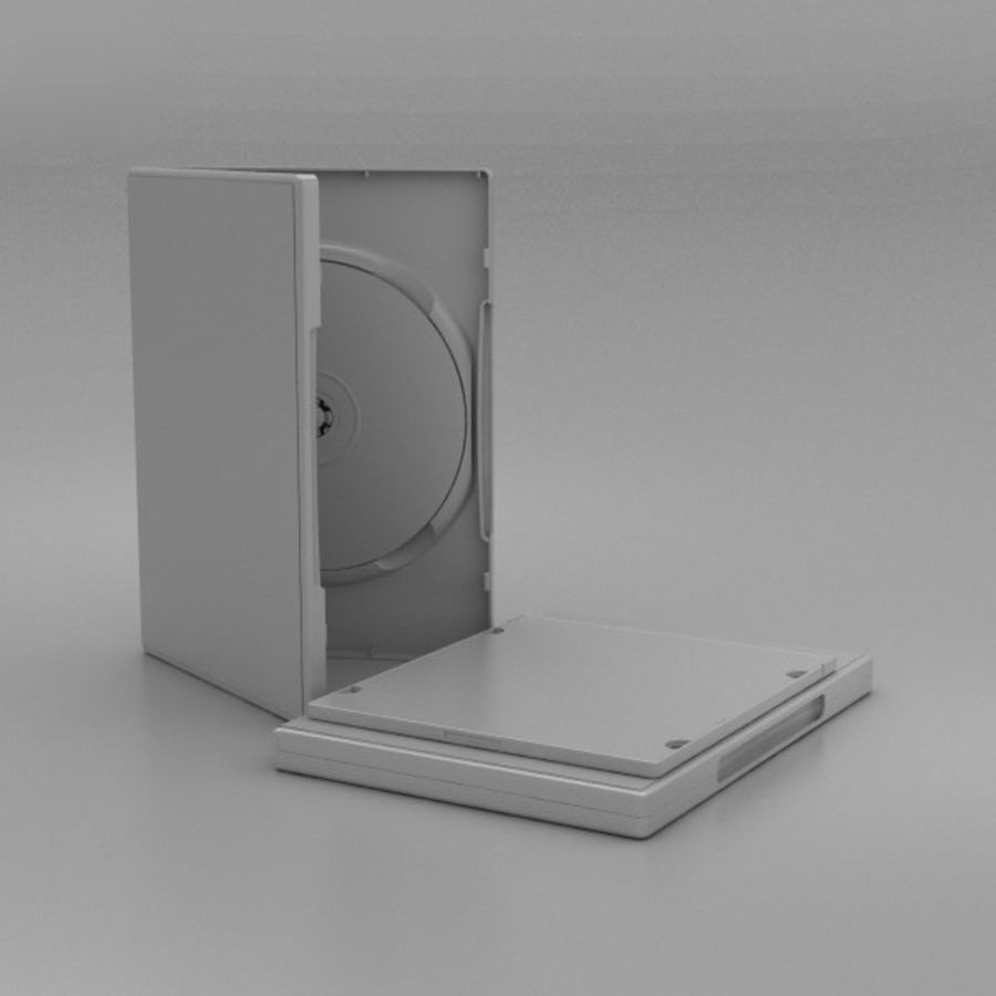 CD 디스크 royalty-free 3d model - Preview no. 11