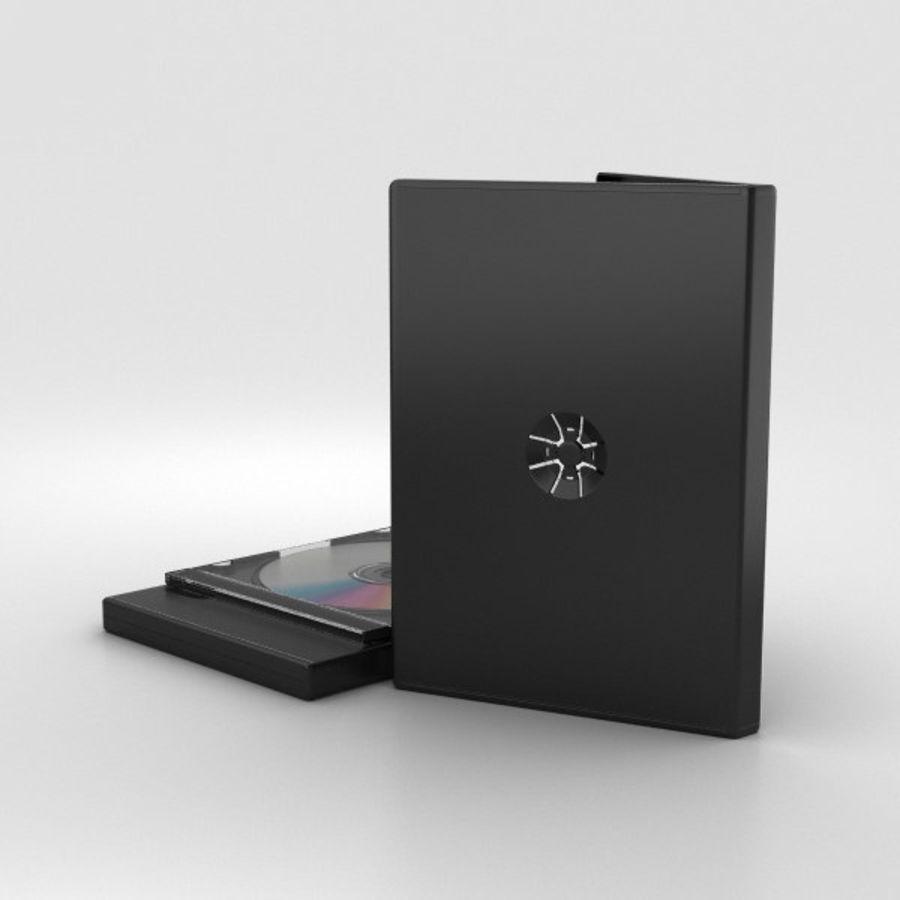 CD 디스크 royalty-free 3d model - Preview no. 2