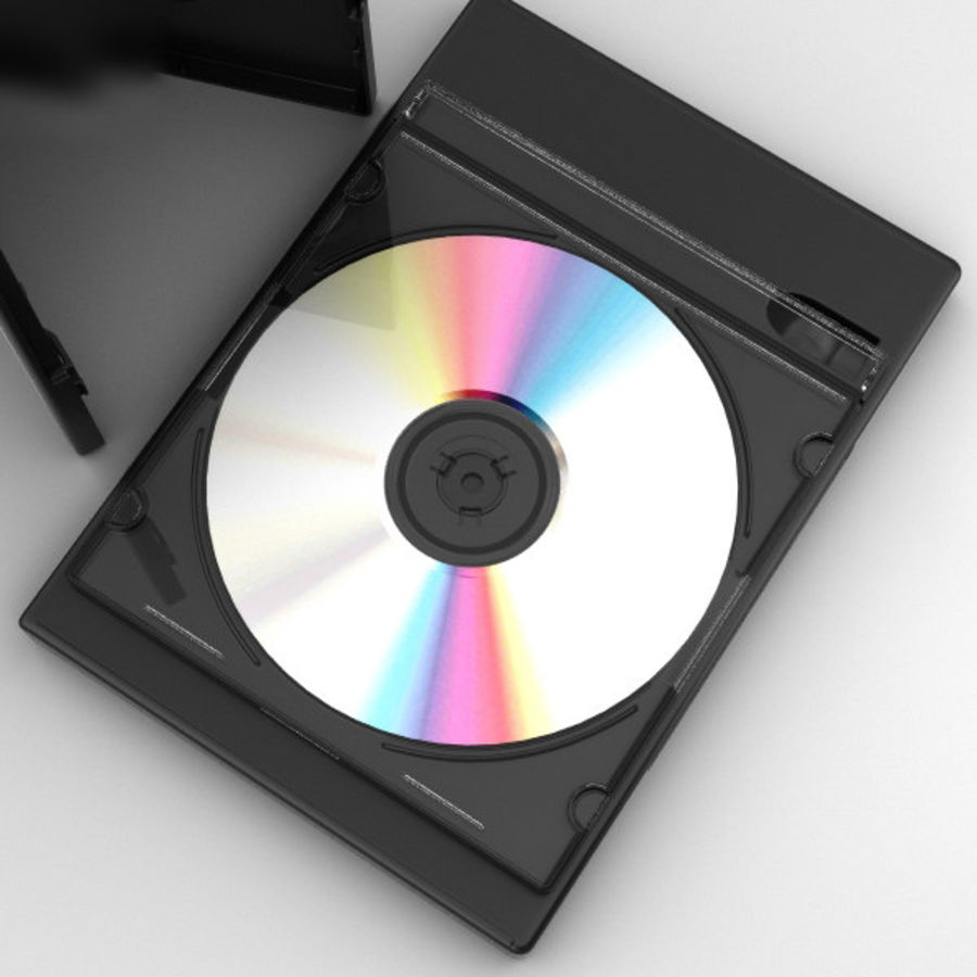 CD 디스크 royalty-free 3d model - Preview no. 10