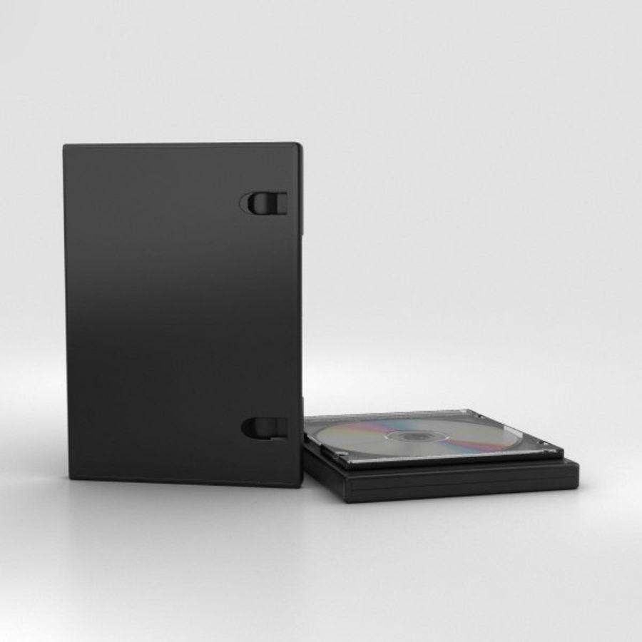 CD 디스크 royalty-free 3d model - Preview no. 5
