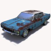 Abandoned Car 03 3d model