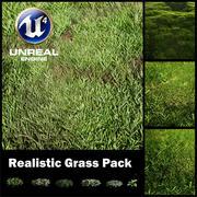 Pack d'herbe réaliste (MOTEUR UNREAL 4) et VRAY 3d model