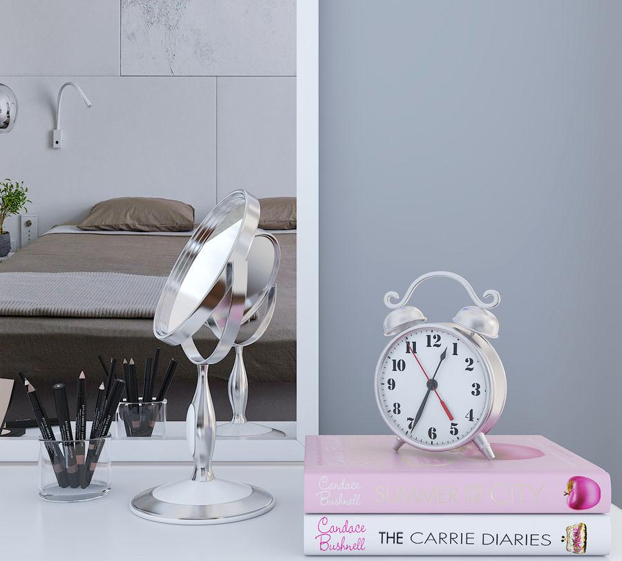 Dekorationssats för toalettbord royalty-free 3d model - Preview no. 5