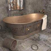 ancienne baignoire élégante 3d model